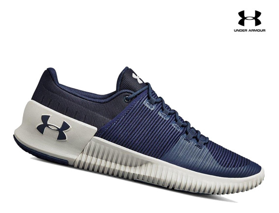 Zapatilla Under Armour Ultimate Speed Para Hombre - Azul