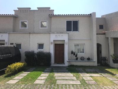 Casa En Renta Amueblada (o Sin Muebles) En Residencial Villas Del Castaño, Metepec