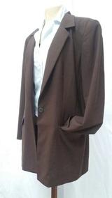 Blazer Sobretudo Importado Vintage Liz Claiborne 44 Seminovo