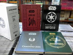 Box Star Wars 4 Volumes Capa Dura