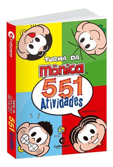 Livro 551 Atividades Turma Da Monica Culturama