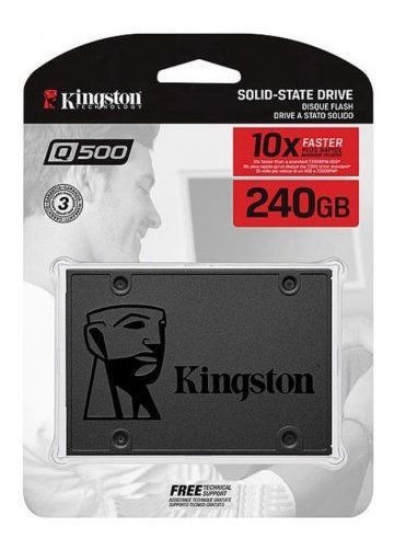 Hd Ssd Kingston 240gb 2.5 3.0 6gb/s Sq500s37/240g