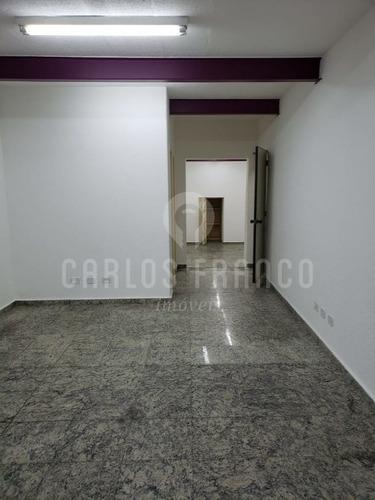 Imagem 1 de 8 de Loja De 260m², Com 2 Salões, 4 Banheiros E Copa Na Bela Vista - Cf64441