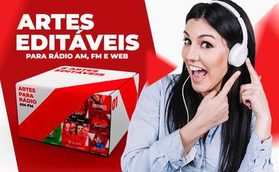 Artes Para Rádio Am, Fm E Web