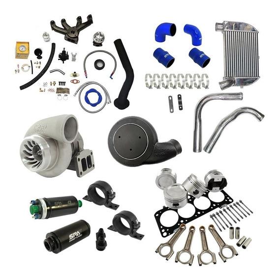 Kit Turbo Forjado Performance Ap 8v Carburado Completo Spa