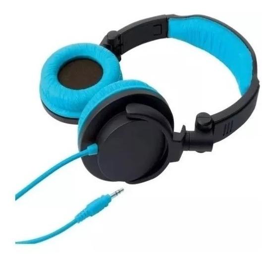 Fone De Ouvido Headphone Dobrável - Full Bass Sv5610 Azul