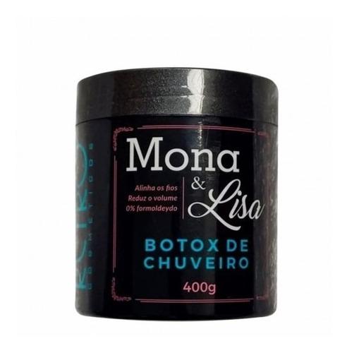 Retrô Xbtx Redutor De Volume Mona E Lisa 400g + Brinde