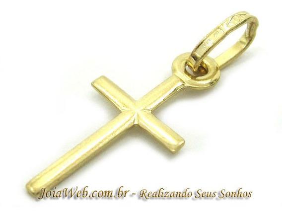 Joianete E9015-10329 Pingente Crucifixo Cruz De Ouro