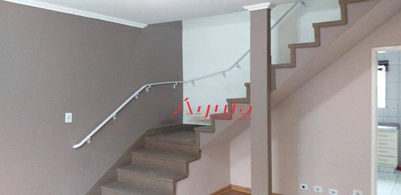 Sobrado Com 3 Dormitórios À Venda, 144 M² Por R$ 535.000 - Jardim Stella - Santo André/sp - So1140