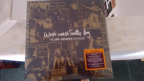 Lp Jimi Hendrix Box Set West Coast Seattle Boy Raro