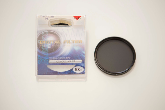 Filtro Polarizador Circular 58mm Kenko