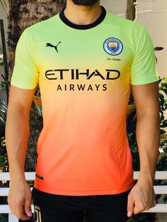 Camisa Manchester City Third Versão Jogador Kun Agüero