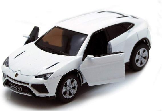Auto Lamborghini Urus Kinsmart 1/38 Blanco Rdf1
