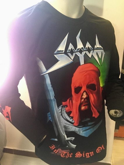 Sodom In The Sign Of Evil Long Sleeve T-shirt Merch Official
