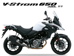 Suzuki V-strom 650 2018/2019 Branco - 0km