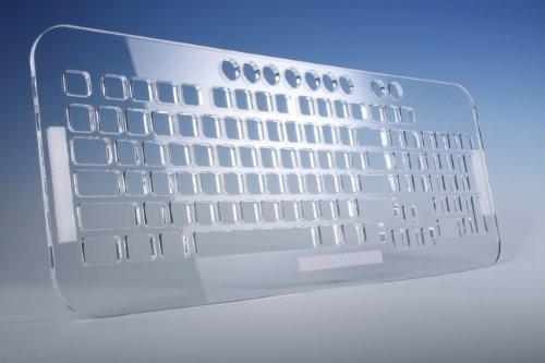Viziflex Transparente De Acrílico Resistente Bloqueo Del Tec