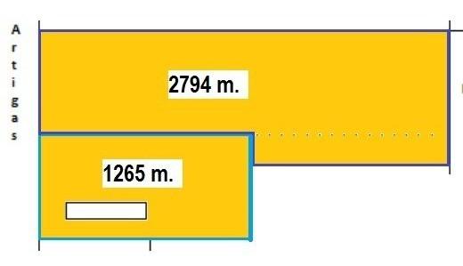 Terreno 4059 M2 En Solymar Norte