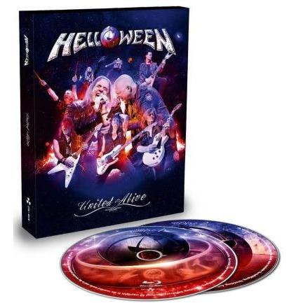 Blu-ray Helloween - United Alive In Madrid (alemão Digipack)