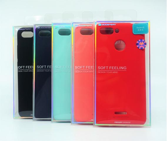 Funda Xiaomi Redmi 6 Mercury Goospery Soft Feeling