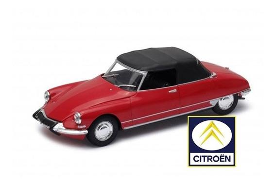 Citroen Ds19 Cabriolet 1964 - Autos Clásicos C/fascículo