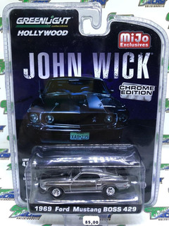 1969 Ford Mustang Boss 429 John Wick Chrome Greenlight