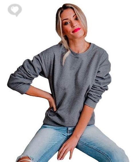 Buzo Algodón Sweater Básico - Art. Jara - Espacio De Bellas!