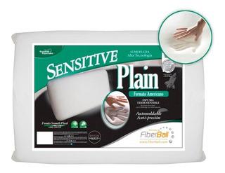 Almohada Fiberball Sensitive Plain 65 X 35 Dapas