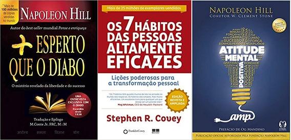 Os 7 Hábitos Das Pessoas Altamente Eficazes + 2 Livros