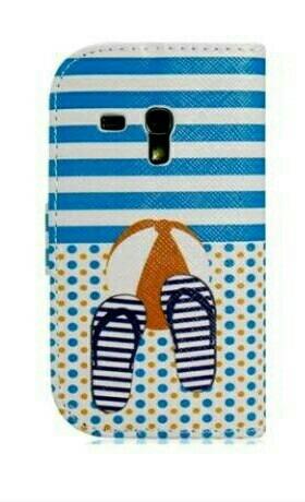 Estuche Flip Samsung S3 Mini Forro Nuevo Original