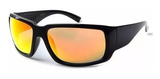 Óculos De Sol Degradê Lente Polarizada E Espelhada Proteção
