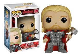 Funko Pop Thor 69 Avengers Age Of Ultron Caja 10/10 Original