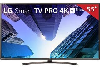 Smart Tv Led 55 55uk631c Lg, 4k Hdmi Usb Com Wi-fi Integrado