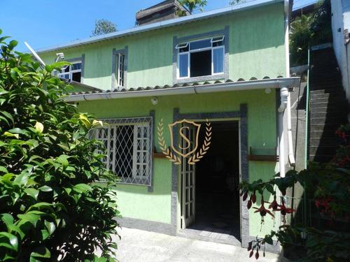 Casa À Venda, 140 M² Por R$ 495.000,00 - Panorama - Teresópolis/rj - Ca0340