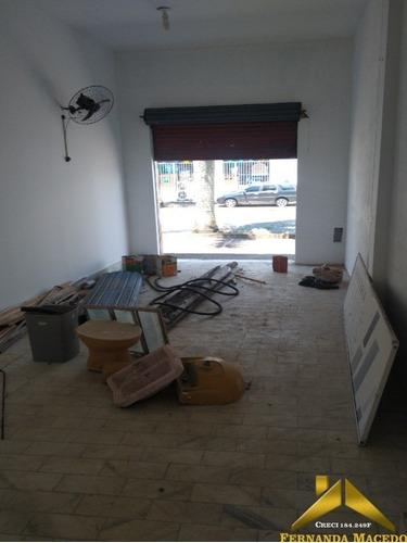 Salão Comercial Próximo Ao Benedito Calixto No Centro De Itanhaém - Sl00005 - 68856466