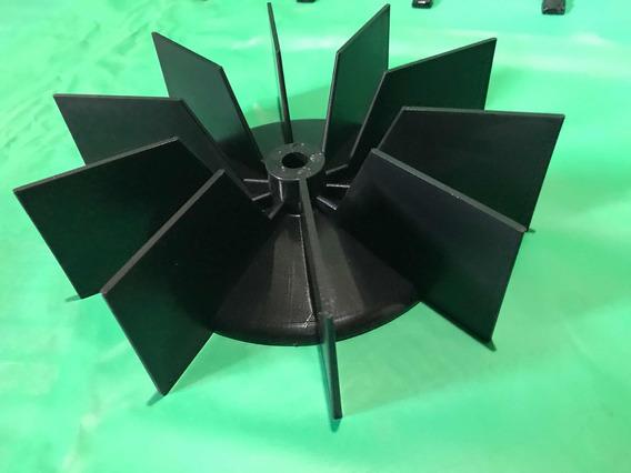 Paleta Plástica Para Turbina De Inflables