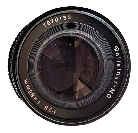 Lente Rollei Rolleinar-mc 85mm 1:2.8 - Objetiva