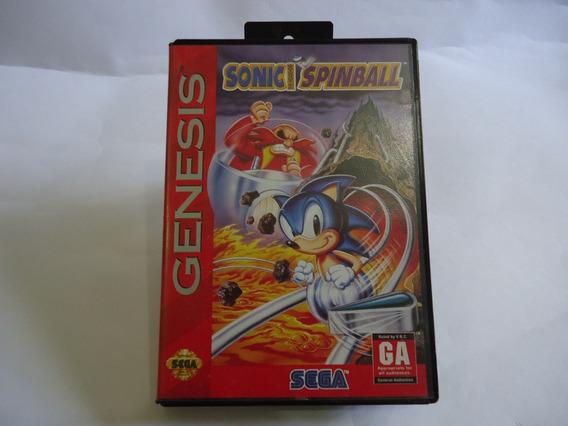 Sonic Spinball Original Americano Completo