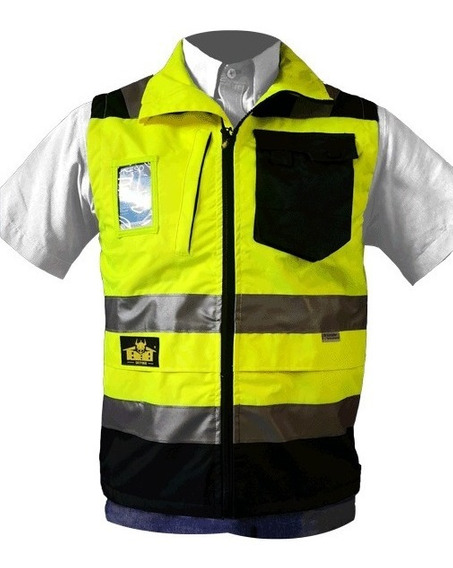 Chaleco Amarillo Ejecutivo Supervisor Bk820