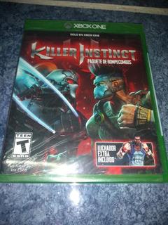 Xbox One Video Game Killer Instinct Combo Breaker Pack Nuevo