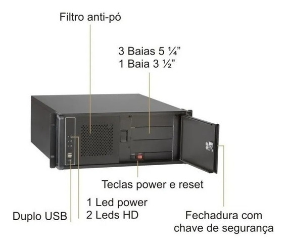 Desktop Hor. Nilko 3- Core I7-(3,4ghz) / 32gb Ram/ 500hd