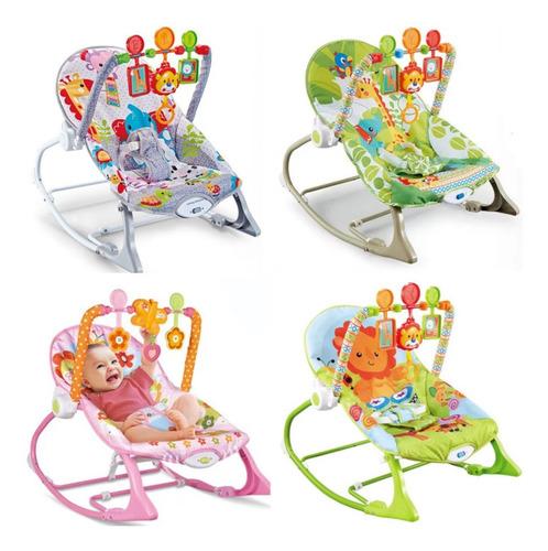 Silla Mecedora Musical Con Vibraciónes Relajantes Para Bebe