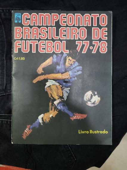 Álbum Campeonato Brasileiro 1977 1978 Completo