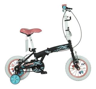 Bicicleta Bia Rodado 12 Plegable Disney Original