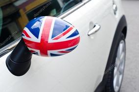 Adesivo Retrovisor Carro Inglaterra, Grã Bretanha Par 20x30