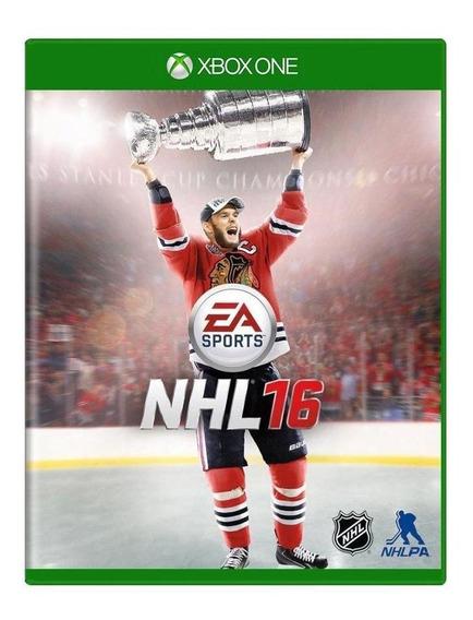 Nhl 16 Xbox One Mídia Física Pronta Entrega