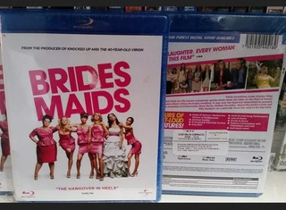 Damas En Guerra / Bridesmaids - Bluray Original Nuevo.