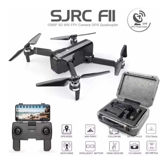 Drone Sjrc F11, Gps 1 Km,duração De 25 Minu