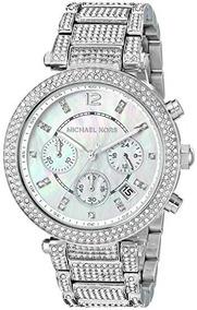 b1ee0ec4dce8 Michael Kors Mk8086 Silvertone Reloj - Relojes en Mercado Libre México