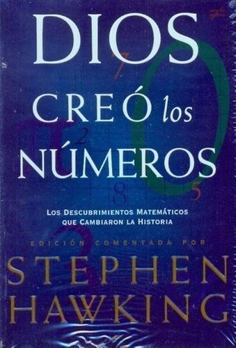 Imagen 1 de 2 de Libro - Dios Creo Los Numeros - Hawking, Stephen