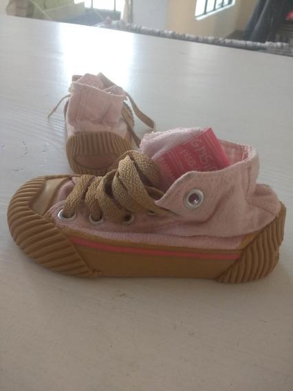 Zapatillas Botitas Grisino Nena